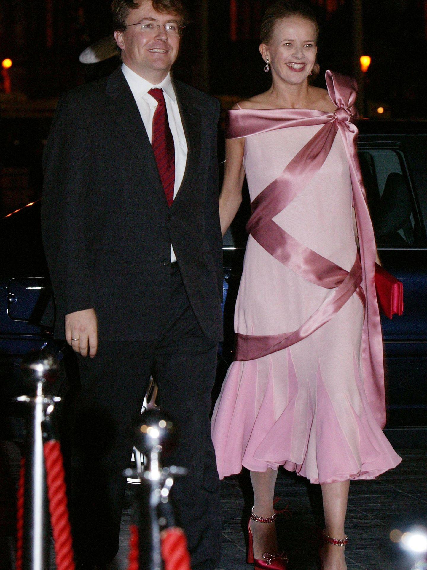 Friso y Mabel de Holanda en 2004. (Getty)