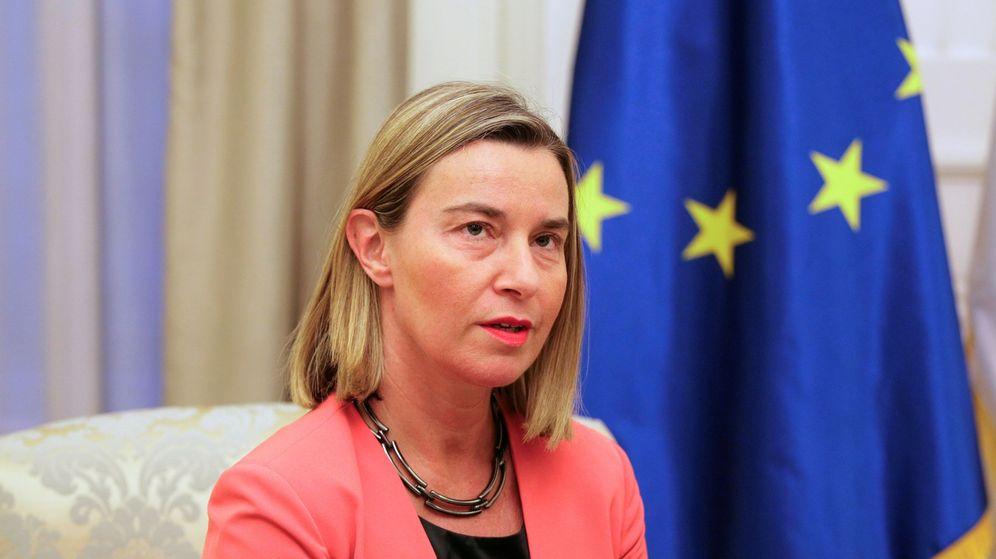 Foto: Mogherini, jefa de la diplomacia europea. (EFE)