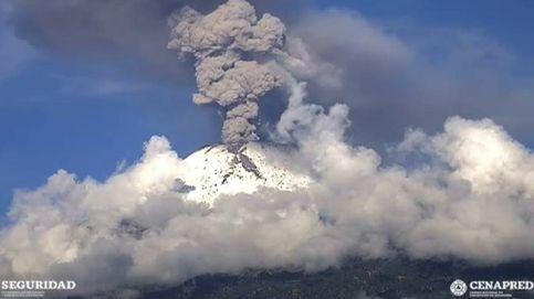 El volcán Popocatépetl registra tres nuevas explosiones