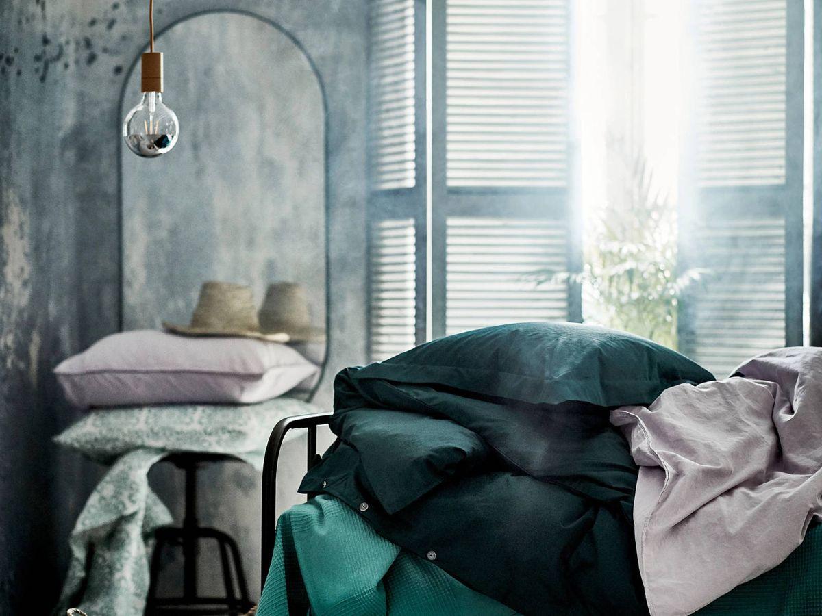 Foto: Espejos de Ikea y Zara Home. (Cortesía Ikea)