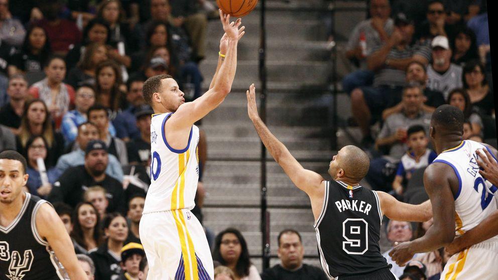 Stephen Curry coloca a los Warriors a la altura de los Chicago Bulls de Jordan