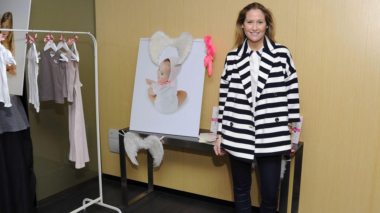 Fiona Ferrer presenta su línea de ropa para bebé 'Waku baby'