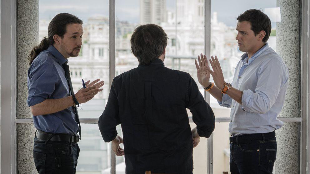 Rivera tacha a Podemos como el partido del calentón: C's es a largo plazo