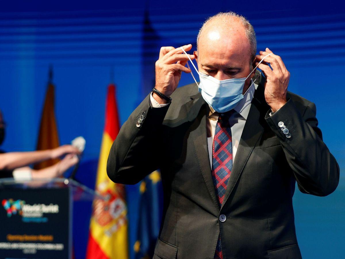 Foto: El exministro de Justicia Juan Carlos Campo. (EFE)