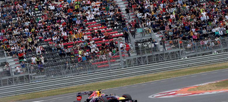 Foto: El piloto de Red Bull Mark Webber en el Gran Premio de Corea. (EFE)