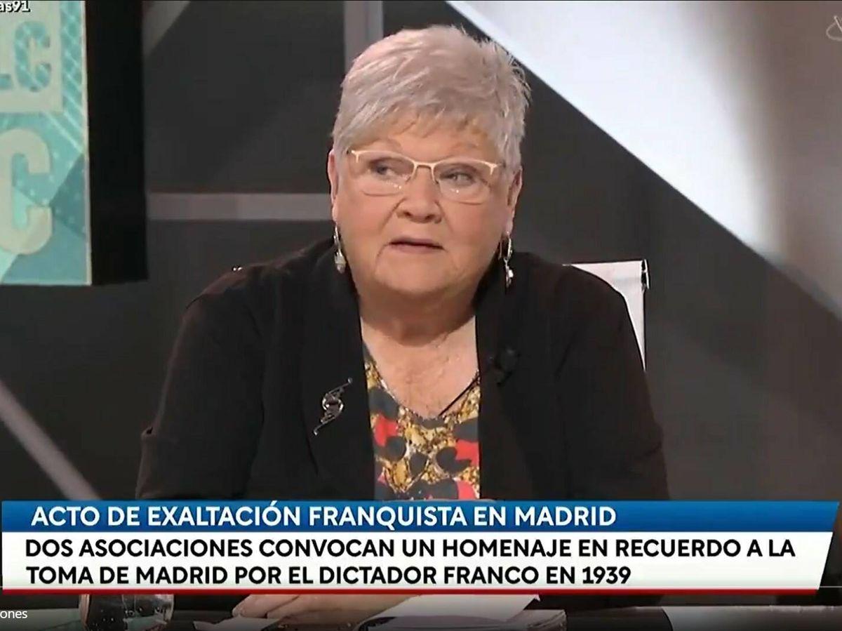 Foto: Gloria Marcos en 'Las cosas claras'. (TVE)