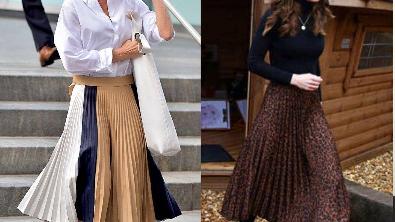 Victoria Beckham y Kate Middleton. (Getty / Reuters)