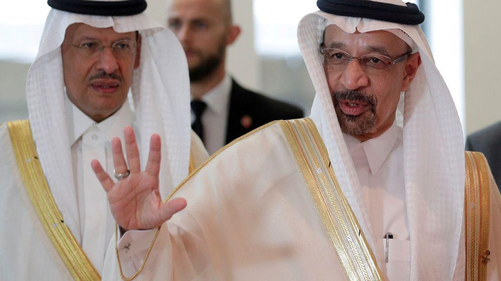 Foto: El ministro del petróleo de Arabia Saudí, Khalid al-Falih (Reuters)