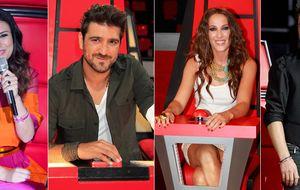 Laura Pausini, Alejandro Sanz, Malú y Orozco serán los 'coaches' de 'La Voz 3'