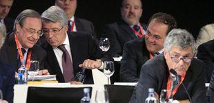 Post de Los arbitrajes al Madrid arrojan una  teoría del Villarato a favor de Florentino