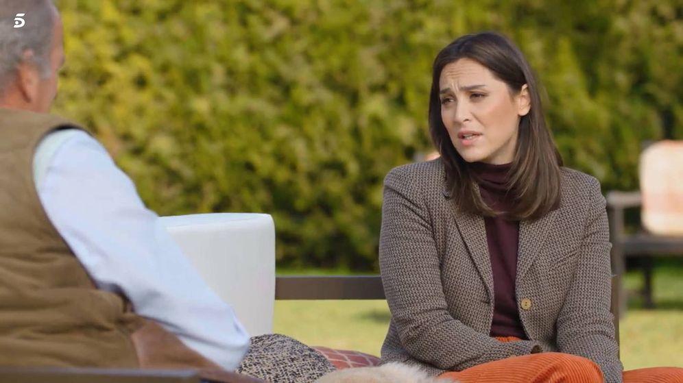 Foto: Tamara Falcó, con Bertín Osborne en 'Mi casa es la tuya'. (Telecinco)