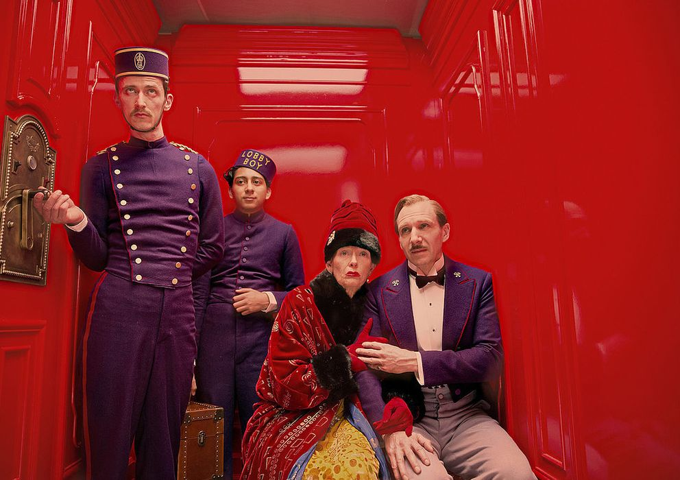 "Foto: El ascensor de ""El gran hotel Budapest"", de Wes Anderson"