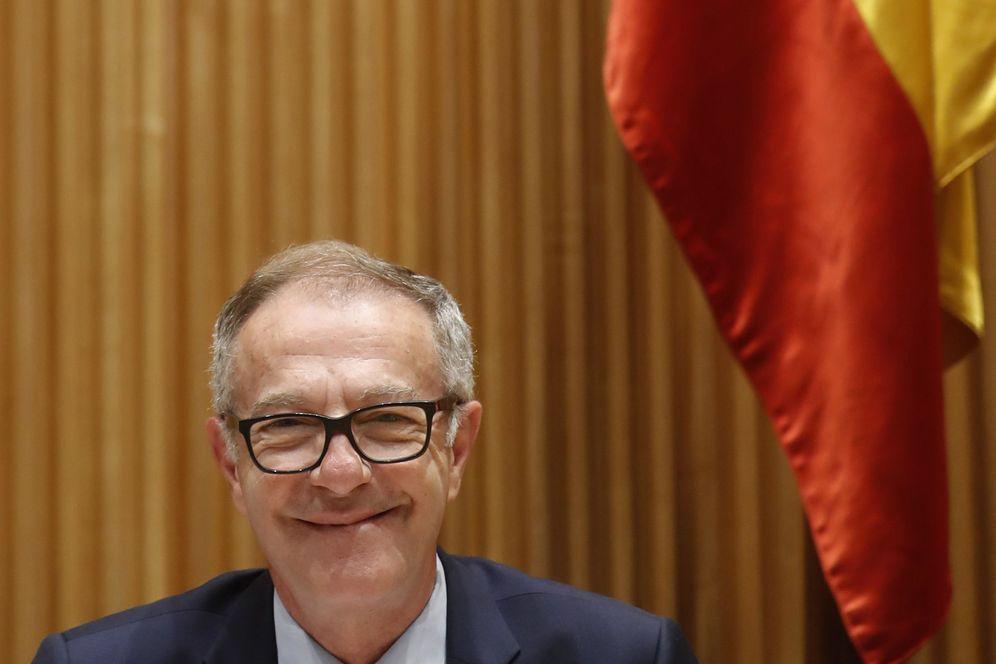 Foto: El ministro de Cultura y Deportes, José Guirao, en la comisión del Congreso (EFE)