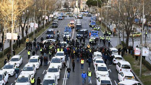 Directo | Los taxistas quieren bloquear Madrid circulando con sus coches