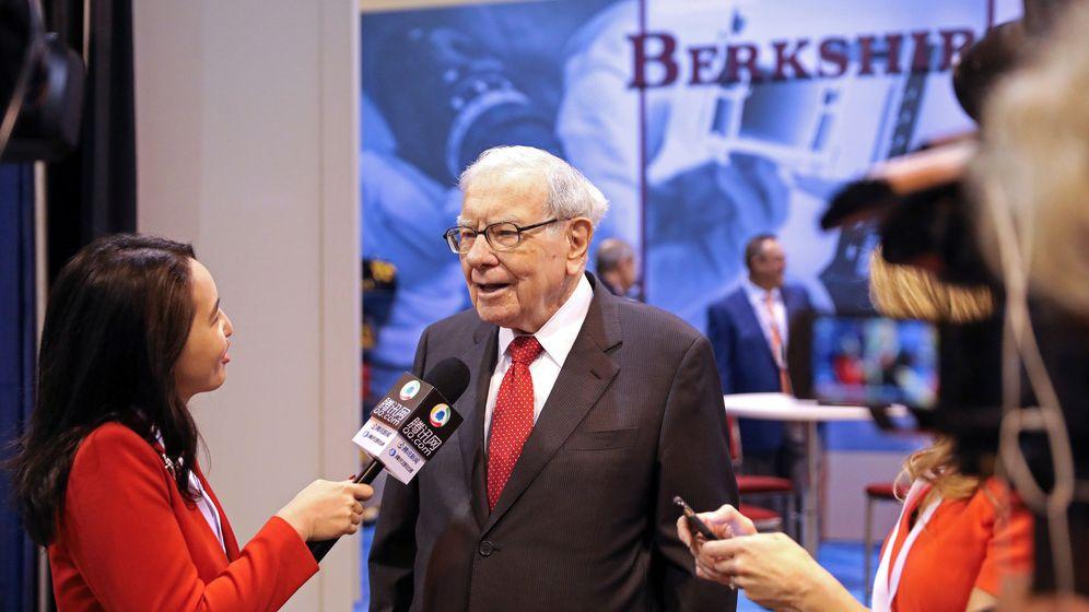 Foto: Warren Buffett, presidente de Berkshire Hathaway (Reuters)