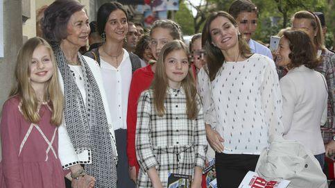 Letizia, Sofía y el plan de chicas Borbón con Irene Urdangarin incluida
