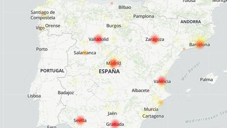 No es solo tu 'router': Yoigo, MásMóvil y PepePhone se caen en toda España