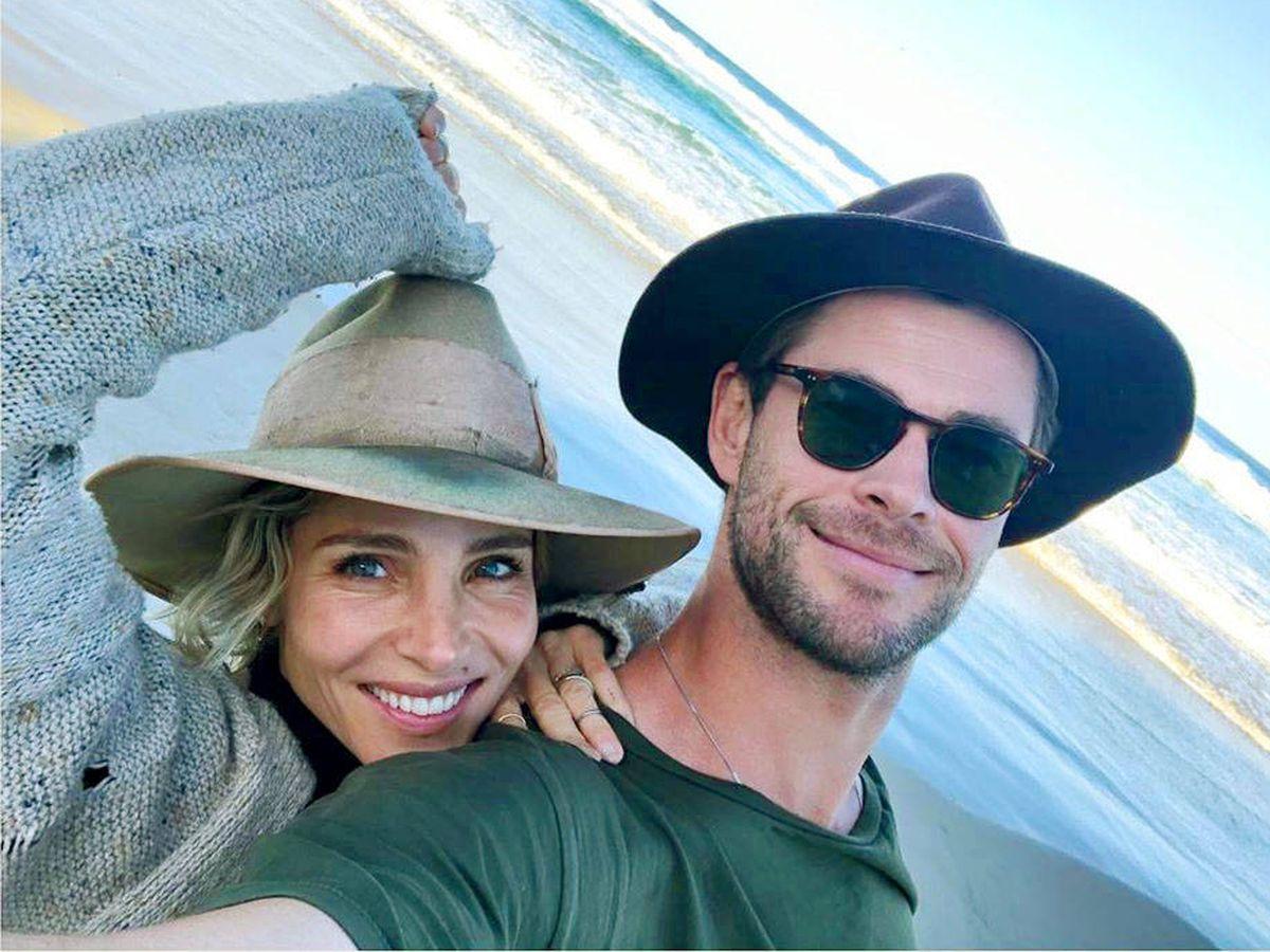 Foto: Elsa Pataky, junto a su marido, Chris Hemsworth. (@elsapatakyconfidential)