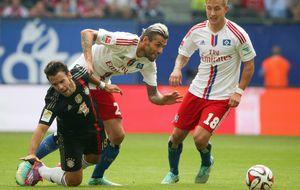 El Bayern de Pep 'pincha' al no pasar del empate ante el Hamburgo
