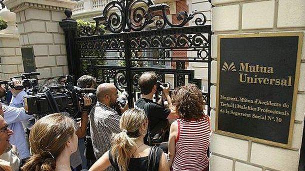 Foto: En 2007, la policía irrumpió en las oficinas de Mutua Universal en Barcelona. (EFE)