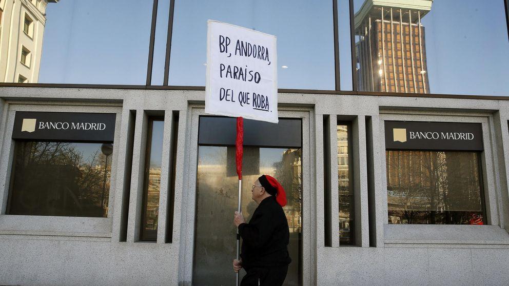 El administrador de Banco Madrid: sólo 100.000 euros a los clientes de Interdin