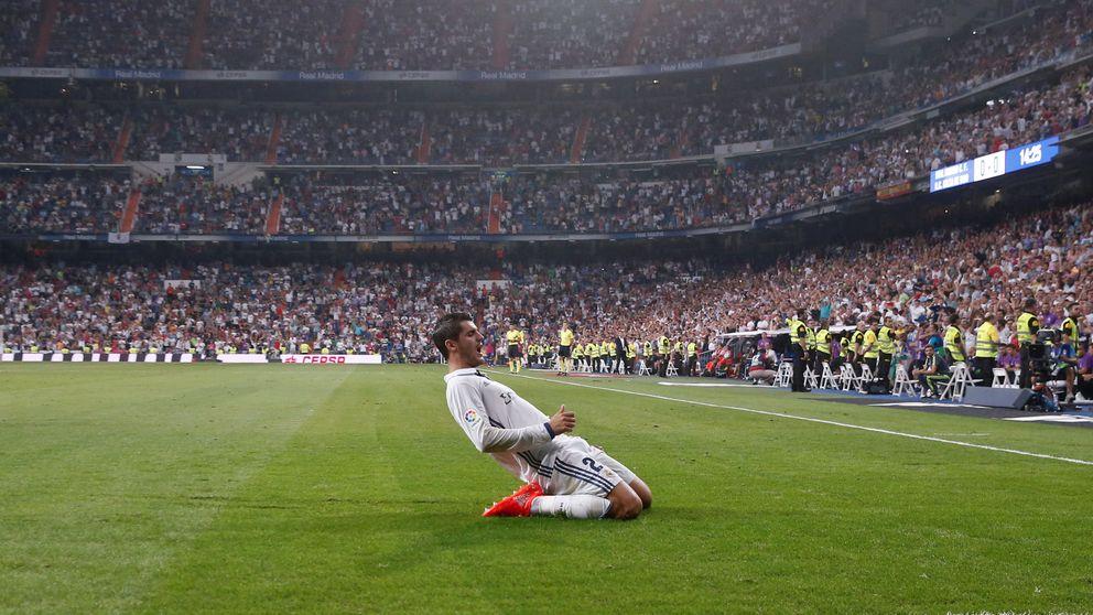 Zidane cierra la puerta de salida a un James que debe tomar nota de Morata