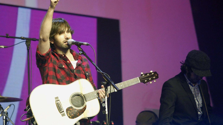 El cantante, en un concierto. (EFE)