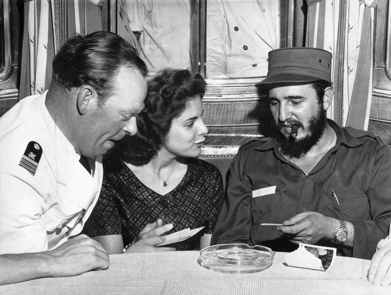 Foto: Fidel Castro y Marita Lorenz (Gtres)