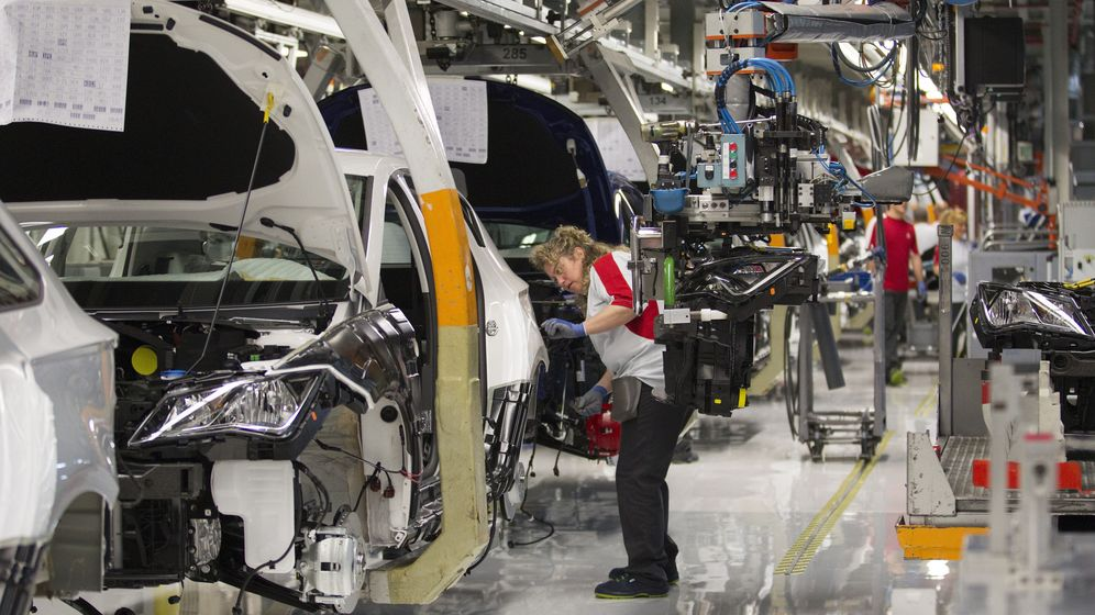 Foto: Imagen de la fábrica de Seat en Martorell, Barcelona (Efe)