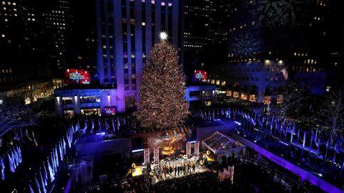 Llega la Navidad a Nueva York con el encendido del árbol del Rockefeller Center