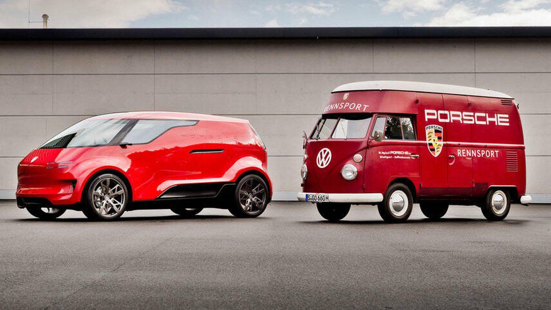Su diseño está basado en una antigua furgoneta de VW. (Porsche)