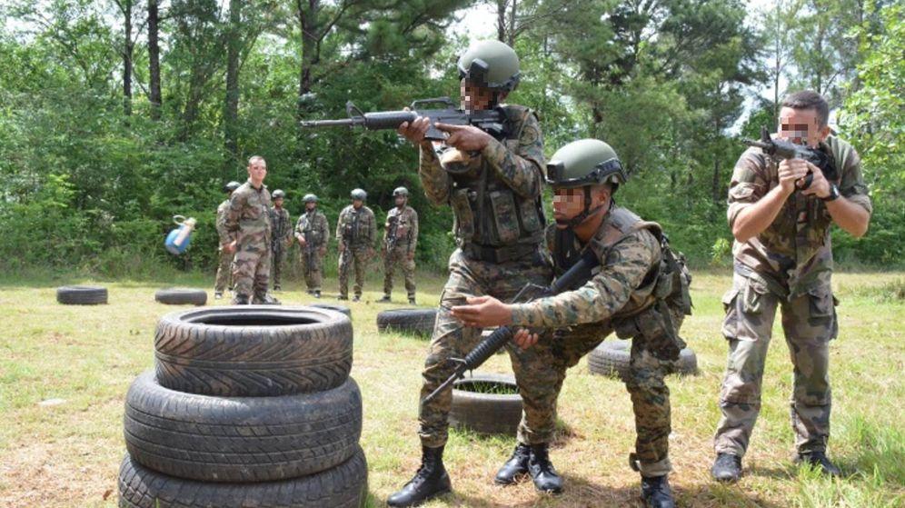 Foto: Una de las imágenes de reclamo de la web del Campamento de la Compañías de Cadetes Millán Astray.