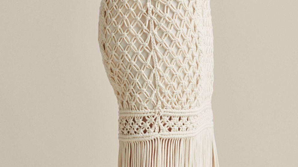 La falda más impresionante del verano es de croché y está en Massimo Dutti