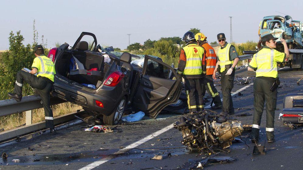 Foto: La N-320 es la carretera con mayor siniestralidad de España. (EFE)