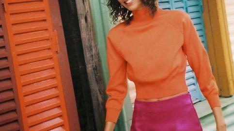 Zara y el increíble chute de color que va a vivir nuestro armario gracias a su nuevo look