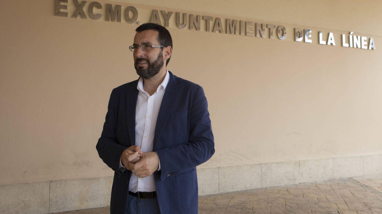 Juan Franco, alcalde de La Línea de la Concepción. (Jesús Domínguez)