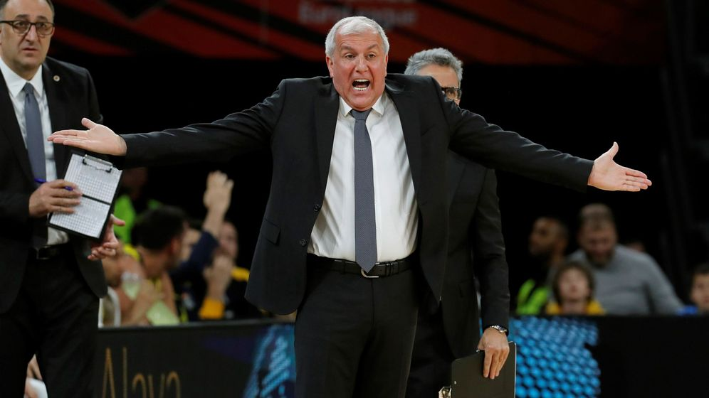 Foto: Zeljko Obradovic es el actual entrenador del Fenerbahçe. (EFE)
