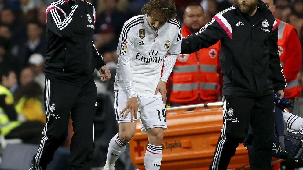 Las lesiones de Modric y Bale ponen a prueba la cintura táctica de Ancelotti