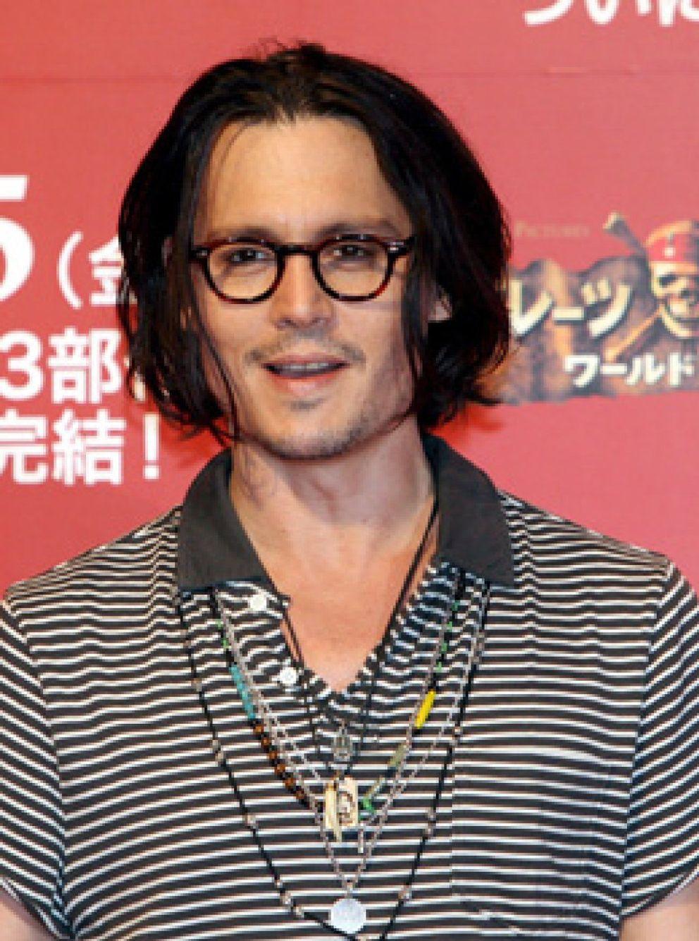 """Foto: Johnny Depp dice que la enfermedad de su hija fue su """"momento más oscuro"""""""