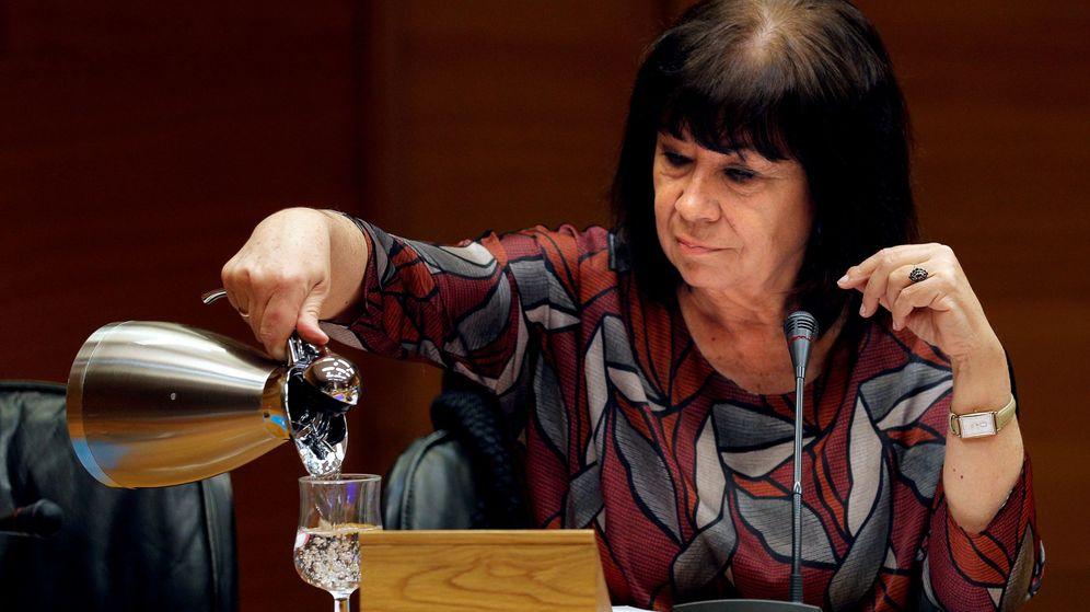 Foto: La exministra de Medio Ambiente y presidenta del PSOE, Cristina Narbona. (EFE)