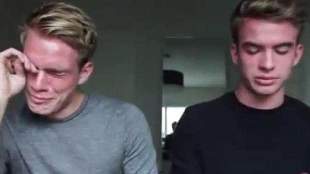 El video en el que dos gemelos le dicen a su padre que son gays