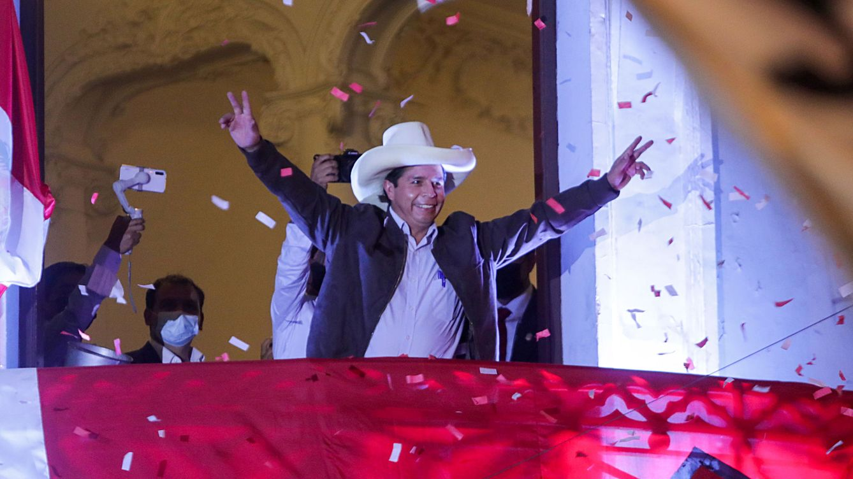 Castillo se declara como presidente electo de Perú y Fujimori sigue rechazando su derrota