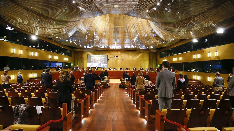 Corte europea de justicia en Luxemburgo. (EFE)
