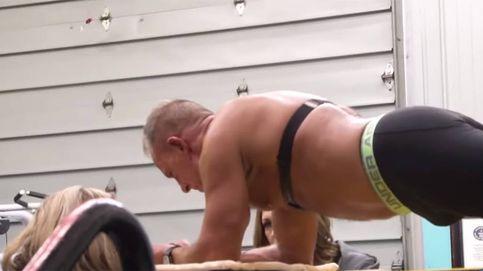 Un ex marine de 62 años, récord Guinness de plancha abdominal