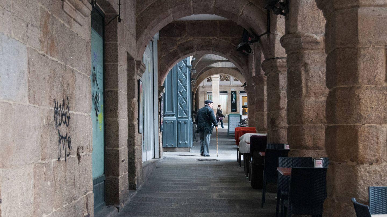 El centro de Ourense.