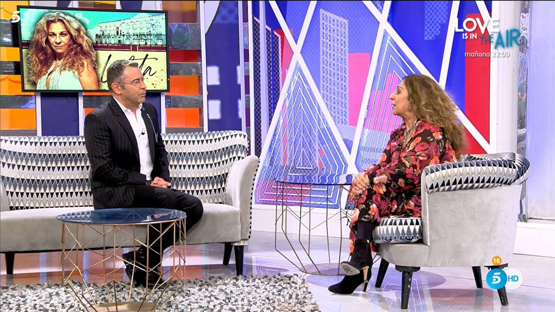 Jorge Javier Vázquez y Lolita Flores, en 'Sábado Deluxe'. (Mediaset España)