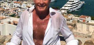 Post de El misterio David Hasselhoff sudando como un pollo, pero con la cara perfecta