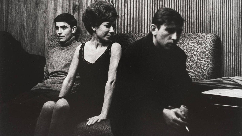 Serrat, Núria Feliu y Raimon en 1976. (Foto de Maspons. Museu Nacional d'Art de Catalunya)
