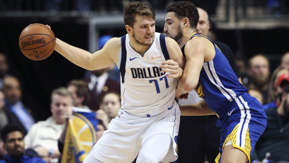 Foto: Luka Doncic sigue asombrando en la NBA. (USA Today Sports)