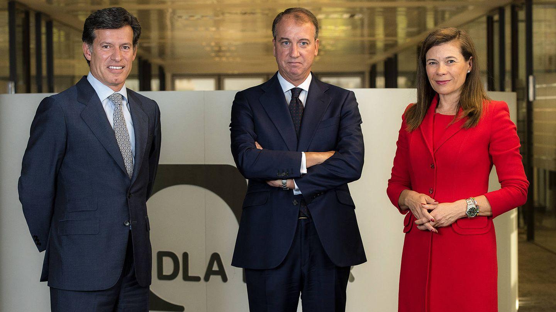 Borja de Obeso (c), nuevo socio de DLA Piper. (DLA Piper)